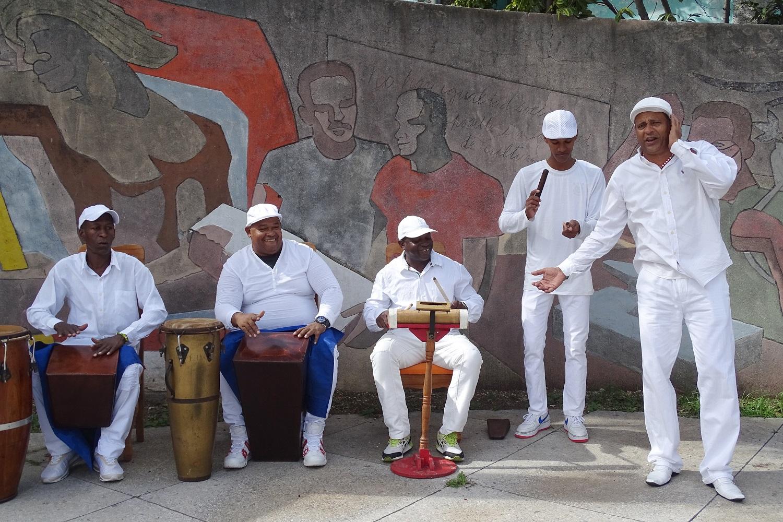 Chants et rythmes des rituels afro-cubains